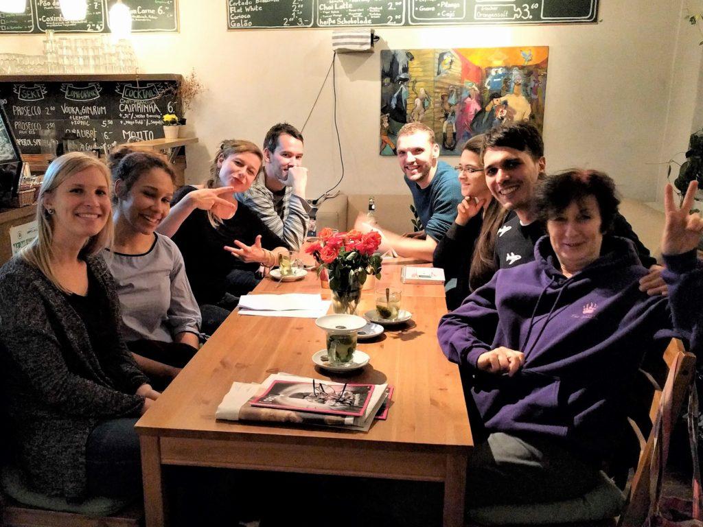 Vereinstreffen im Cafè Mori